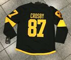 New Embroidered 2019 Stadium Series Pittsburgh Penguins Sidney Crosby Jersey NHL $99.95 USD on eBay