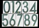 2018 2019 OFFICIAL SPORTING ID AUSTRALIA HOME GREEN NUMBERS 250mm = PLAYER SIZENational Teams - 112979
