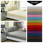 Fitted/Flat 100%Egyptian 1900 Count Deep Pocket Wrinkle Free Soft Bed Top Sheets image