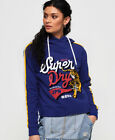Superdry Womens True Japan Tiger College Crop Hoodie <br/> RRP £44.99 - BUY FROM THE OFFICIAL SUPERDRY EBAY STORE
