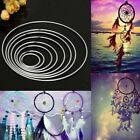 Metal Dream Catcher Dreamcatcher Ring Macrame Craft Hoop Art DIY Circle 10 Sizes