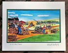 Hit N Miss Art Print and antique engine gas doodle bug tractor saw mill gift men