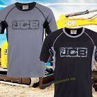 JCB Workwear Trade Heavyweight Cotton T Shirt Crew Neck Short Work Tops PK 2