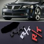 Brand New Metal Rt Grill Badge/trunk Badge Emblem R/t Front Badge Rear Badge