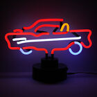 Vero Neon Insegna Non LED Americano Muscle Car Chevrolet 57 Bel Aria Desk Lamp