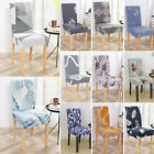 Floral Stretch Chair Covers 1/2/4/6pcs Slipcover Dining Home Banquet Party Decor