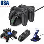 FOR PS4 Wireless Controller Charger Fast Charging Station Dock Stand Dualshock