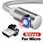 3 in 1 3A Magnetic Fast Charging Cable Micro USB Type C Charger Cable Data Sync