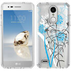 for LG Tribute Dynasty/Empire(Clear) Slim Flexible TPU Skin Phone Case Cover-D1