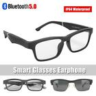 Bluetooth 5.0 Smart Glasses Polarized Sunglasses Music Audio Earphone Call USB