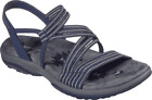Women's Skechers Reggae Slim Stretch Slinky Sandal Navy