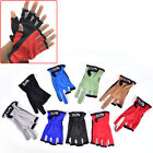 1 Pair Fishing Gloves Outdoor Fishing Protection Anti-slip 3/5 Cut Finger Gl W6