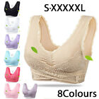 Kyпить NEW Front Cross Side Buckle Wireless Lace Bra Breathable Yoga Sport for Women US на еВаy.соm
