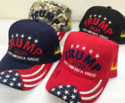 """""""Trump 2020 Keeping America Great"""" Puff Embroidered Signature Hat Flag Bill New!"""