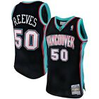 Men's Vancouver Grizzlies Bryant Reeves Mitchell & Ness 2000-01 HWC Black Jersey on eBay