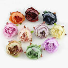 Flower Heads 10pcs Artificial Peony Champagne Decoration Home Bouquet Wedding