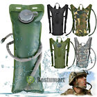 Hydration Backpack+3L Water Bladder Bag Leakproof Military Hiking Camping Sports