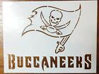 Tampa Bay Buccaneers Stencil FAST FREE SHIPPING $12.0 USD on eBay