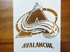 Colorado Avalanche Custom Stencil FAST FREE SHIPPING $14.99 USD on eBay