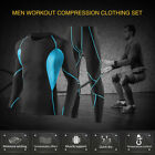 Men's Sports Clothing Compression Base Layer Running Long Sleeve Clothes U4T0