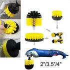 3Pcs Scrub Drill brush Attachment Time Saving Kit Scrubber Cleaning For Car home photo