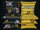 Set of 8 Pittsburgh Pirates Cornhole Bags **FREE SHIPPING** on Ebay
