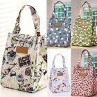 Adults Women Ladies Girls Portable Insulated Lunch Bag Box Picnic Tote Thermal