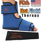 Foot & Ankle Achilles Pain Relief Ice Wrap | Hot & Cold Full Boot Ice Gel Wrap