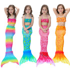 Kyпить Kids Girls Mermaid Tail Bikini Swimsuit Costume swimwear 3 Pcs Set 3-12 Years на еВаy.соm