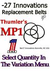 Replacement Drive Belts for Thumler's Rock Tumbler Model MP-1 mp-1 brass polish