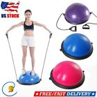 """Trainer Yoga Fitness Strength Exercise 23"""" Balance Ball w/ Resistance Bands Pump image"""