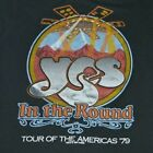 Yes Band In The Round Tour T-shirt Black Men S-3XL Reprint