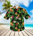 Cat Pineapple Hawaiian Shirt 3D - HAWAII SHIRT 3D Size S-5XL