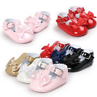 Hot Baby Newborn Girls Princess Shoes Leather Soft Sole Sneaker Pram Party Shoes