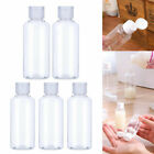 100ml Empty Plastic Dispensing Bottles with Flip Cap Travel Bottles Containers N