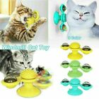 Cat Turning Windmill Turntable Tickle Cat Toy Scratch Hair Pet Accessory~ E5S6