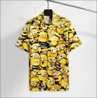 Minion hawaiian 3D shirt Size S-5XL