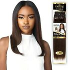 SENSATIONNEL 100 HUMAN HAIR WEAVING - CLIP IN 7PCS YAKI 14