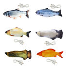 Realistic Interactive Fish Cat Kicker Crazy Pet Toy Gift Catnip Toys for Pets