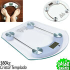 Scale Weight Of Bath Digital LCD 396.8lbs Glass Tempered Glass Precision C Stack