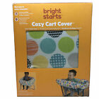 Bright Starts Cozy Cart Cover Liner - Machine Washable Fun Colors
