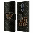 PEAKY BLINDERS LOCATION BADGES LEATHER BOOK CASE FOR MICROSOFT NOKIA PHONES
