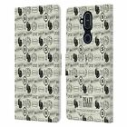 OFFICIAL PEAKY BLINDERS PATTERNS 2 LEATHER BOOK CASE FOR MICROSOFT NOKIA PHONES