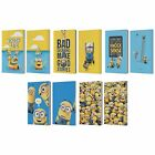 OFFICIAL DESPICABLE ME FUNNY MINIONS LEATHER PASSPORT HOLDER WALLET COVER CASE