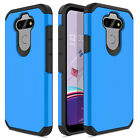 For LG K31/Aristo 5/Tribute Monarch/Phoenix 5 Case Shockproof Hard Armor Cover