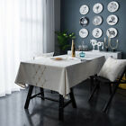 Delicate Embroidered Pattern Tablecloth Dining Room Home Polyester Table Cloth