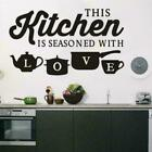 Bedroom Living Room Removable Home Decor Kitchen Wall Stickers Vinyl Decals Us