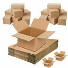 HEAVY DUTY Postal Packing Cardboard Moving Boxes VARIOUS SIZES Mailing Packaging