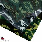 100% Cotton CAMO BANDANA Camouflage Design Bandanna Cow Boy Girl Biker Scarf UK