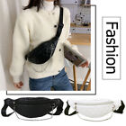 Fashion Leather Women Chest Belt Bag Crossbody Fanny Pack Casual Shoulder Pouch